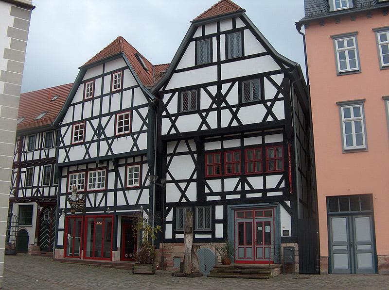 Viele Fachwerkhäuser zieren das Zentrum von Schmalkalden