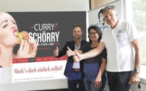 Curry Schörry macht sich für Leukämiekranke stark
