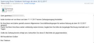 Trojan malicious confidence / Agent.CSFB Virus wird mit gefälschten Telekom Mails versendet
