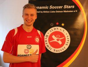 Björn Rührer ist Neuzugang bei den Dynamic Soccer Stars