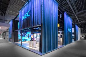Immersiver Erlebnisraum – D'art Design Gruppe erneut für NEC auf der ISE 2018
