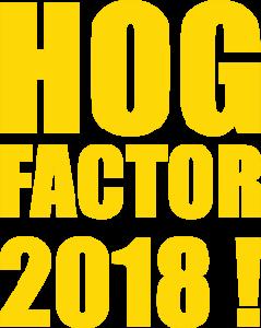 Jetzt anmelden zum HOG Factor 2018!