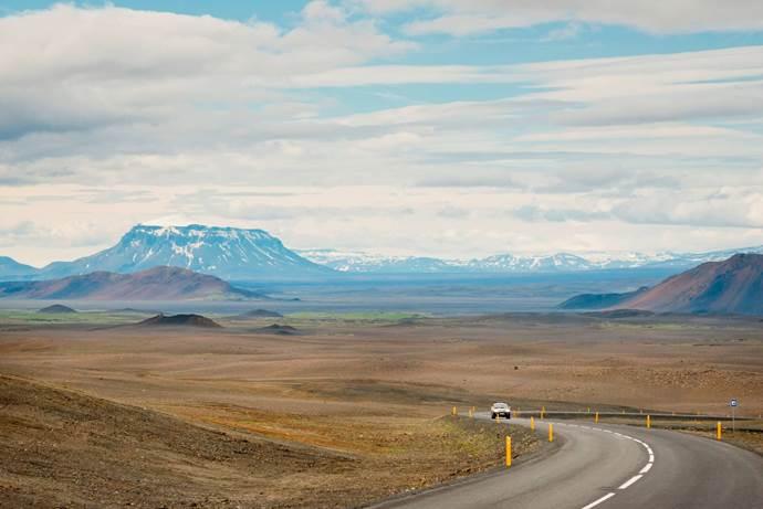 Hochland mit Tafelvulkan Herdubreid © Katla Travel