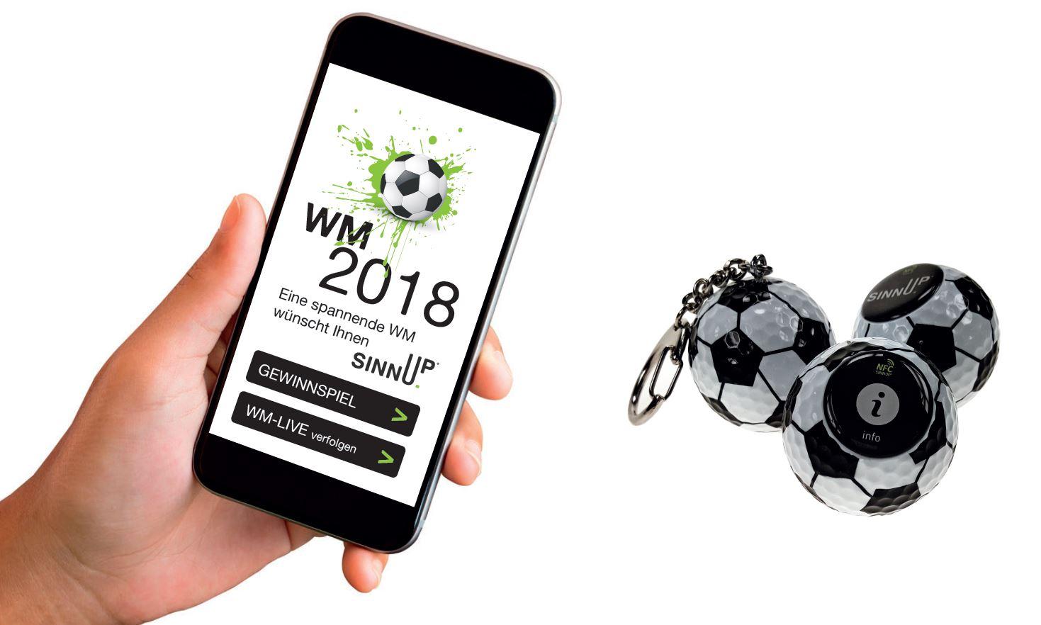 Digitale Werbemittel Fußball WM