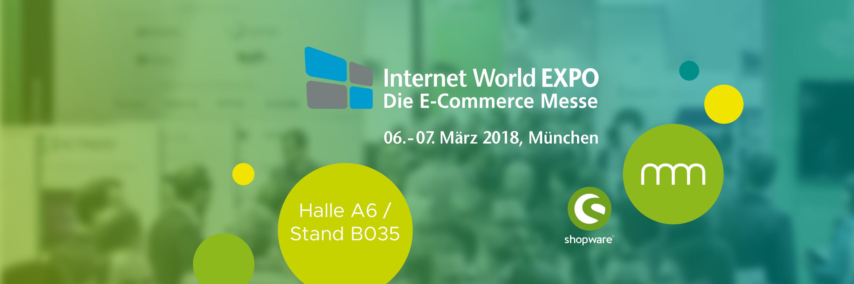 communicode AG ergänzt als Mitaussteller das Shopware-Universum auf der Internet World 2018