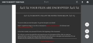 dream_dealer@aol. com Generic Trojan – .DREAM Globeimposter Ransomware