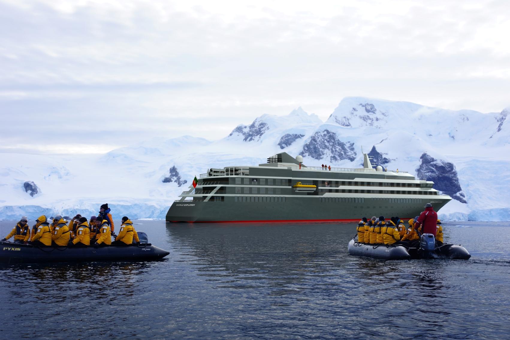 Neu im Angebot von Vista Travel: Die inspirierenden Routen der nicko cruises WORLD EXPLORER Expeditionsyacht ab 2019 sind ab sofort buchbar