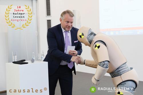 """Girst_Jubiläum_Radialsystem_causales """"100 Impulse im Spannungsfeld von Ästhetik und Effizienz"""" ist das Motto des 10. KulturInvest!-Kongress am 12. und 13. 11. 2018 im RADIALSYSTEM V in Berlin"""