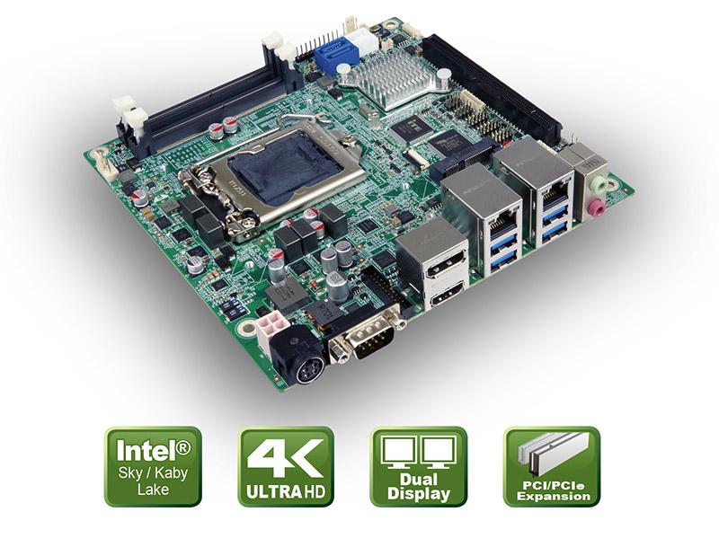 Kaby Lake CPU Boardfür POI Anwendungen