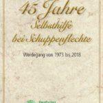 DPB-Jubiläum – 45 Jahre Selbsthilfe bei Schuppenflechte. Chronik beschreibt Werdegang.
