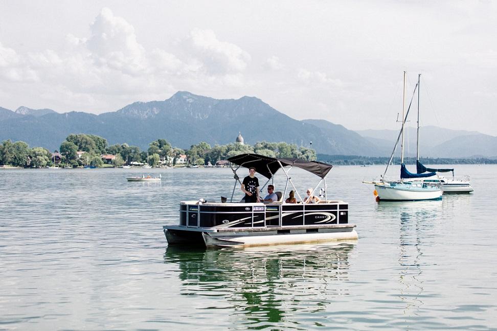 Brunch- & Yachtrundfahrt ©Chiemseeyacht