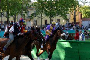Pferde, Reiter, Fahnenschwinger – Ferrara feiert den wohl ältesten Palio der Welt