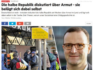 Stern-Reporter: Deutscher Sozialstaat ist die größte Erfolgsgeschichte unserer Zeit