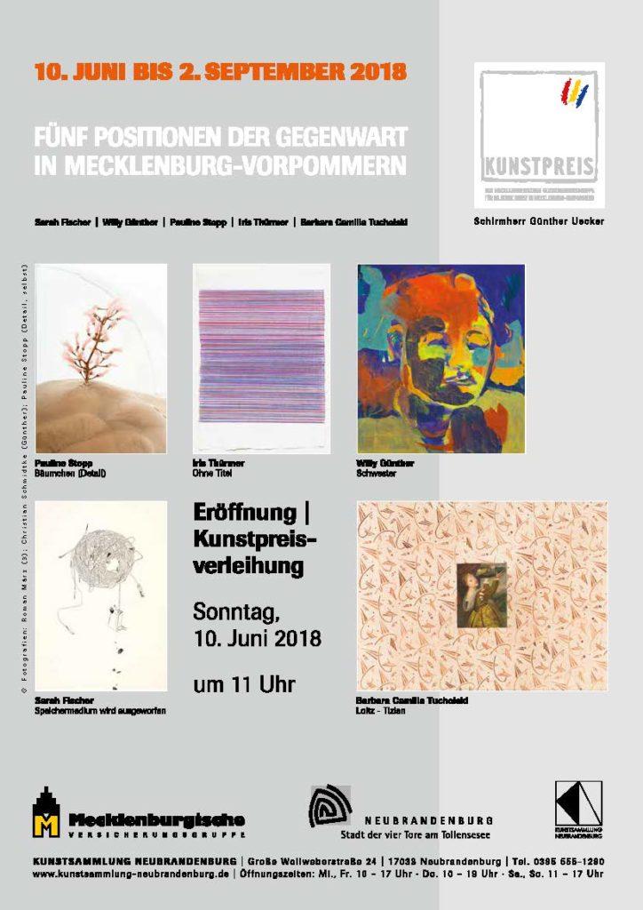 Mecklenburgische Versicherungsgruppe stiftet ihren Kunstpreis bereits zum siebten Mal