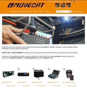Movecat startet Online-Shop