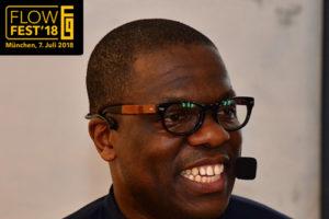 Biohacking-Experte Dr. Akuma Saningong übernimmt Moderation des FlowFests 2018 in München