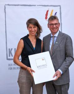 Preisträgerin 2018 – Kunstpreis der Mecklenburgischen Versicherungsgruppe für Bildende Kunst in Mecklenburg-Vorpommern