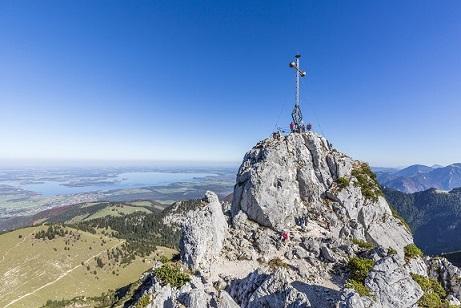 Gipfelkreuz auf der Kampenwand - ©Chiemsee-Alpenland Tourismus