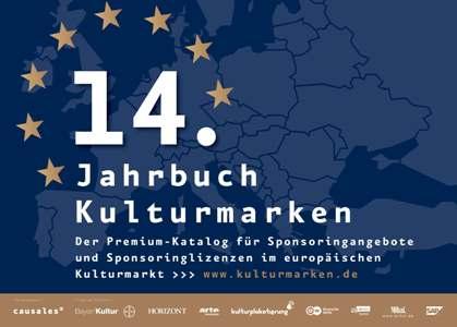 """Der Causales-Premium-Katalog für Kultursponsoring """"Jahrbuch Kulturmarken 2019"""" erscheint im September"""
