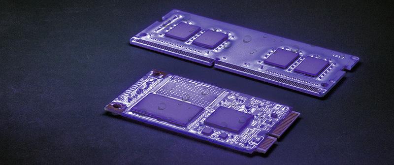 Industrielle Flashspeicher und RAM Module