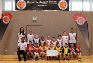 Dynamic Soccer School spendet für Hakan Bicici