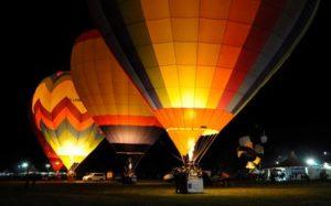 Der Himmel über Ferrara: im Heißluftballon
