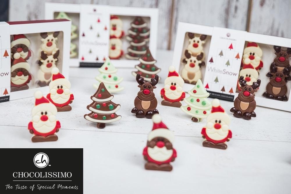 Weihnachtsgeschenke von CHOCOLISSIMO