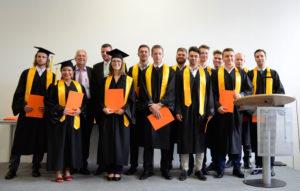 Bachelor- und Masterabsolventen in zwei Studiengängen verabschiedet:
