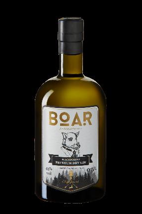 BOAR-Gin-Flasche BOAR Gin – der höchst- und meistprämierte Gin der Welt feiert auf dem BCB 2018