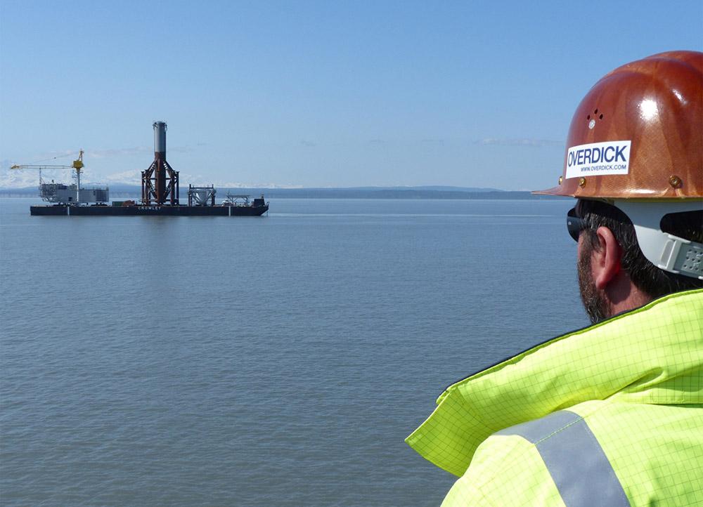 KLU Gas Platform project, Alaska. T&I Engineering and Supervision. (Deutsche Oil & Gas AG)