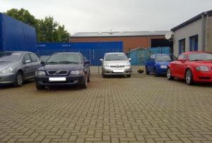 Valet Parkplatz Flughafen Weeze. Lightparking ist immer gefragt.
