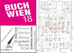 Bücher des Karina-Verlages auf der Buch Wien 2018