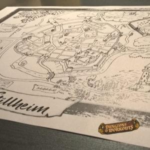 Dungeons & Workouts: Das Fantasy-Rollenspiel, das mit Freunde fit macht