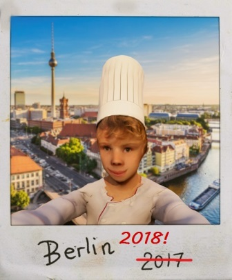 Le Petit Chef zurück in der Hauptstadt: Der kleinste Koch der Welt hat noch einen Koffer in Berlin
