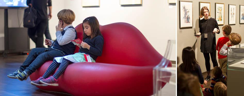 "KinderKulturSonntag im Museum ""Dalí – Die Ausstellung am Potsdamer Platz"" am 14. Oktober 2018"