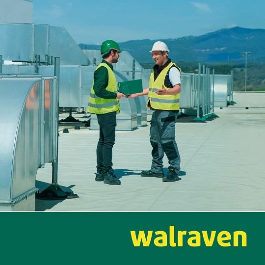 Walraven-Flachdachinstallationen_neu Walraven-Montagesystem zur Aufständerung von Flachdachinstallationen