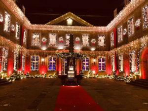 Dekoration mit Auszeichnung: Weihnachten in der Wolkenburg