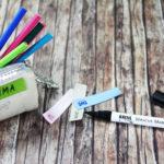 Lösung für alltägliches Problem – Etiketten zum Beschriften für Textilien