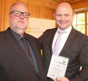 PROJECT Investment Gruppe erhält Deutschen Beteiligungspreis 2018