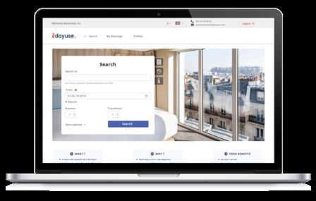 Dayuse Business – Die Lösung für Geschäftsreisende   Mit Dayuse.com tagsüber in Hotels