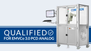 COMPRION PCD Analog Test Solution Qualified for EMVCo 3.0