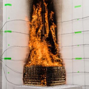 MPA Dresden: Europas modernster Brandschutz-Fassadenprüfstand