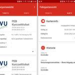 KCEFM: Analyse von eTickets per App von IVU