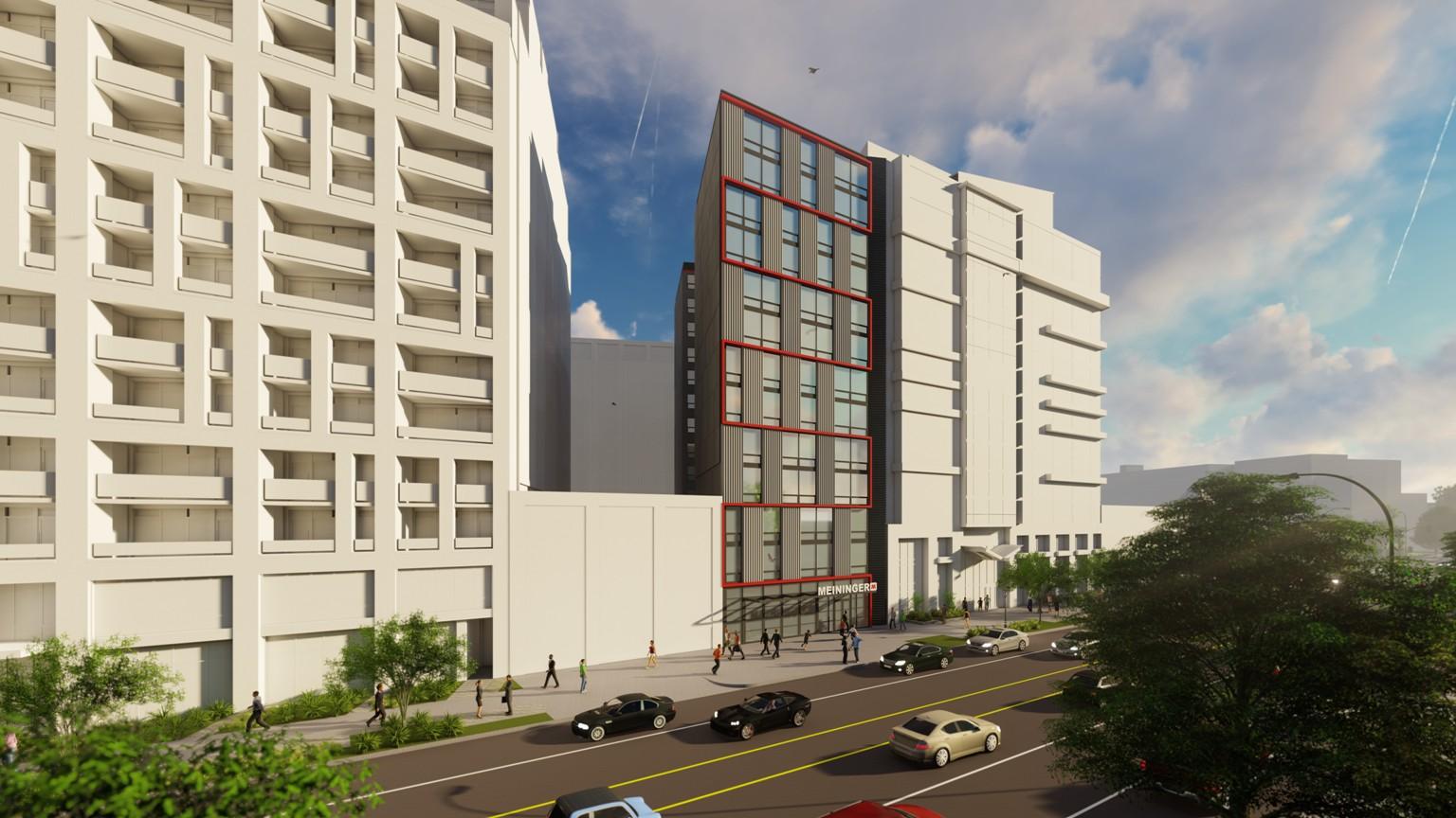 MEININGER gibt Pläne für erstes Hotel in den USA bekannt –  Das erste amerikanische MEININGER Hotel entsteht in Washington D.C.