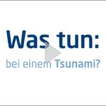 Die ERV zum Verhalten bei Tsunamis