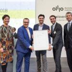 Bessere Luft in den Städten: e-troFit als Leuchtturmprojekt für nachhaltige Mobilität mit dem Deutschen Mobilitätspreis 2018 ausgezeichnet