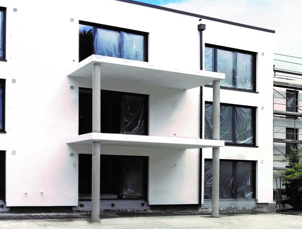 Vorgefertigte Balkonplatten sparen Zeit und Geld