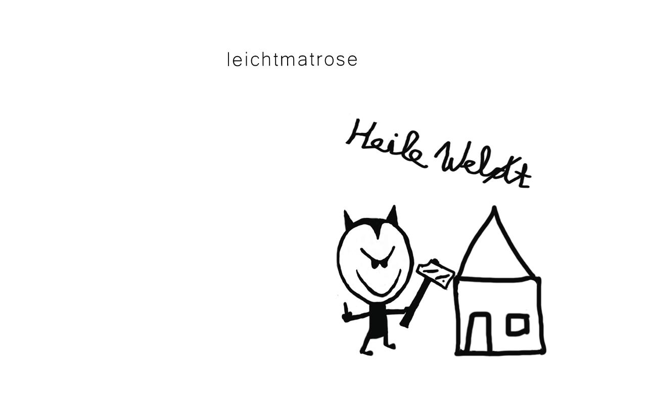 """Gipfelstürmer """"Heile Welt"""" – Das neue Album der Band Leichtmatrose ist auf Platz Eins der Deutschen Alternativen Charts (DAC)"""