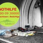 Spendenaktion für Obdachlosenhilfe Aachen