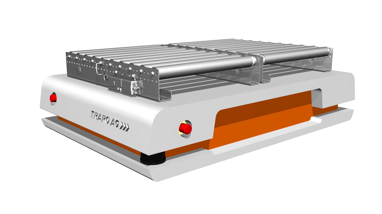 TRAPO AG: Zur LogiMAT ergänzen autonome Transportsysteme  das branchenübergreifende Gesamtanlagenkonzept